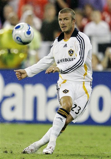 David Beckham Soccer Player